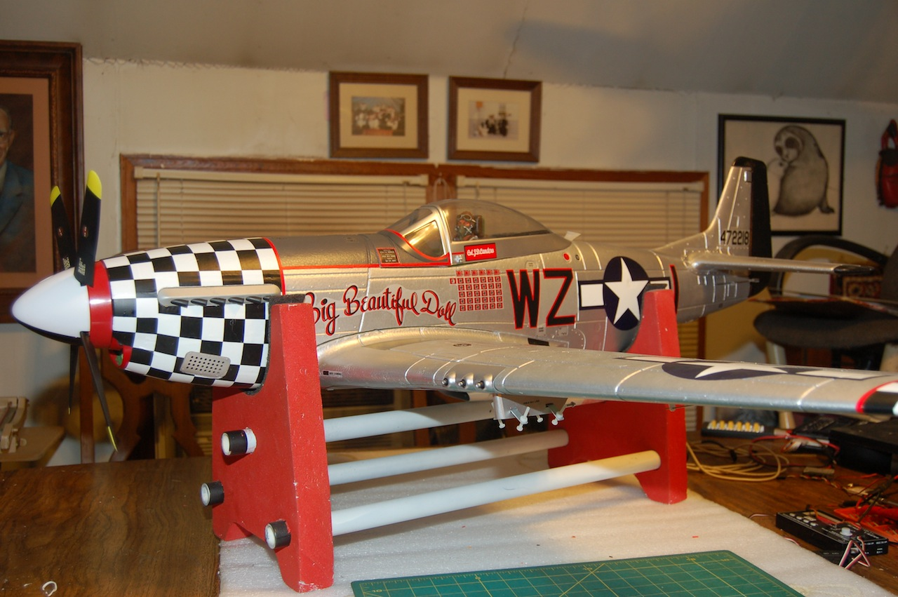 My P-51D Big Beautiful Doll