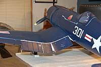 Name: F4U Corsair_Build_Flaps_Mod_11-15-2010_0000.jpg Views: 708 Size: 58.8 KB Description: The port wing flaps.
