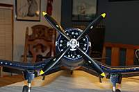 "Name: F4U Corsair_Build_VarioPROP_13"" 4-Blade_12-07-2010_0000.jpg
