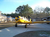 Name: T6 Texan in Driveway.jpg