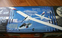 Wattage Egret - Electric Ultralight rc plane