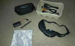 fatshark altitude  video goggles with 5.8g