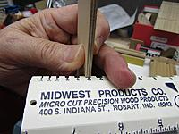 """Name: 004.JPG Views: 5 Size: 124.0 KB Description: Checking the thickness to be sure it is 5/32"""" thick before I glue the two pieces together."""