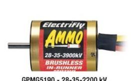 Ammo brushless inrunner motor