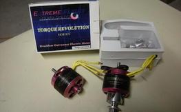 Two Torque 4014/570 motors