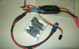 Cobra 80a ESC with program card