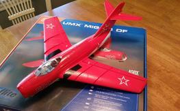 E-flite UMX MiG 15 AS3X