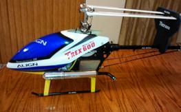 trex 600n fbl w/new engine bnf/beastX