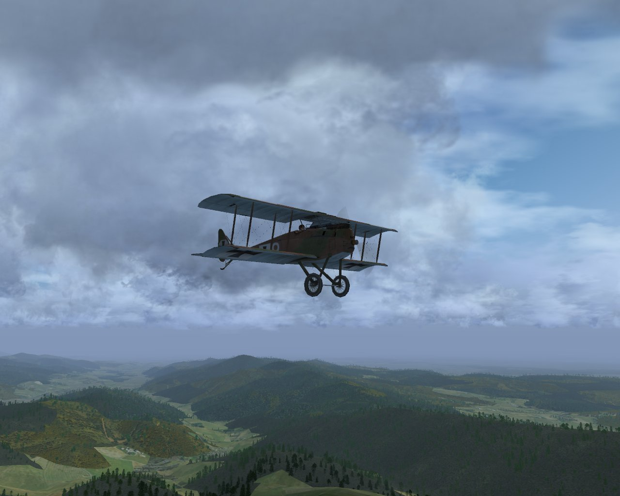 A WWI Mod I'm doing with FlightGear