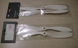 """2 sets of Phantom v1/FC40 Props  - 8"""" White"""