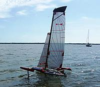 Name: MPX Foiling-- Foil Assist-Flying Main hull Over Powered 009.JPG