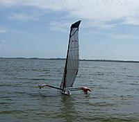 Name: MPX Foiling-- Foil Assist-Flying Main hull Over Powered 006.JPG