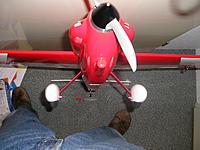 Name: P1010004.JPG Views: 8 Size: 810.2 KB Description: Front view original landing gear.