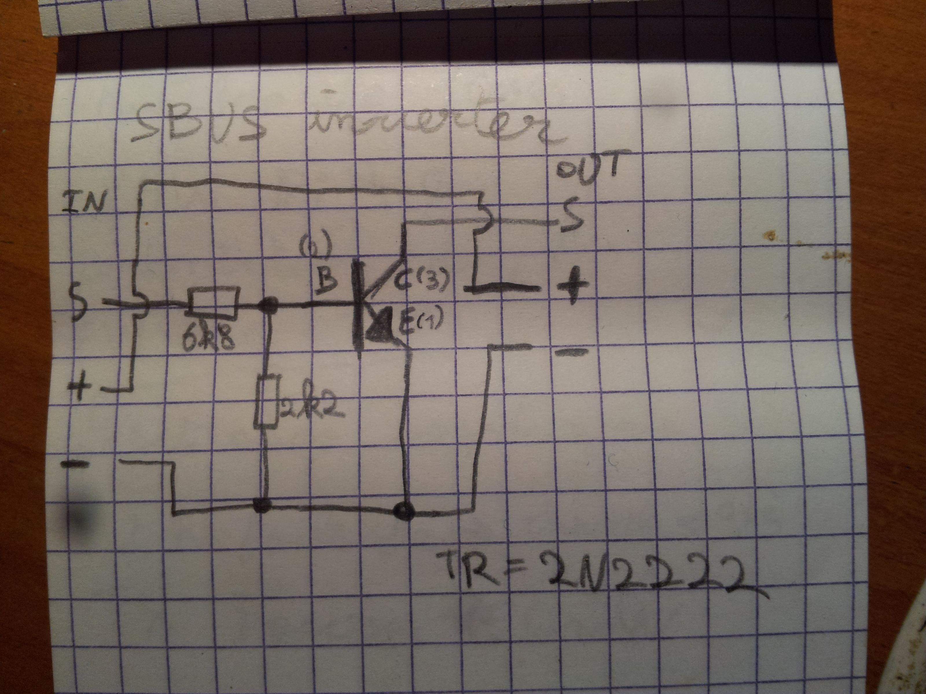 naze32 flip32 s bus requires signal inverter another variant on the design is this one