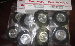 MPI Ultra Light Aluminum Wheels with axis inserts