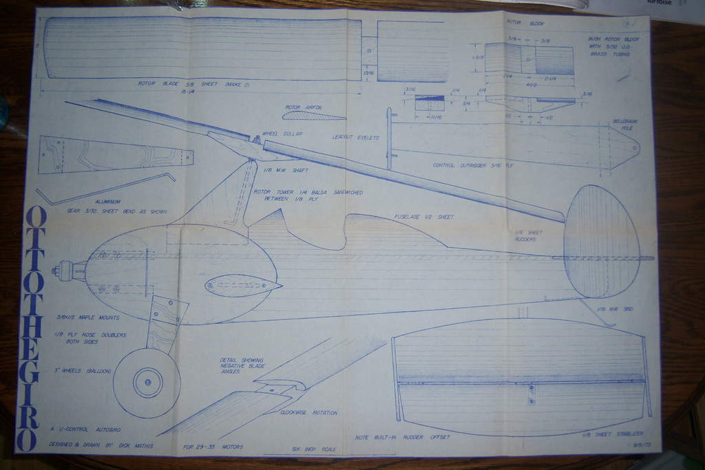 one page complete full scale plans