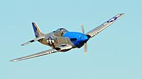 Name: FMS P-51 Blue Nose Flyby Crop.jpg