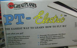 Great Planes PT-Electric Kit