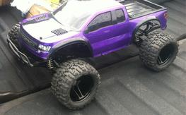 Traxxas 4x4 pede (slash MT) RTR