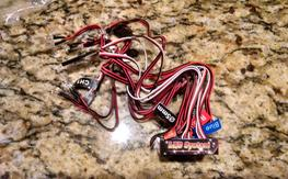 12 LED Flashing Light System for RC Cars
