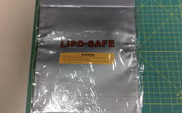 "NIB Lipo Safe Bag 10"" x 12"""
