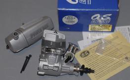 O.S. 120 AX Special w/Powerbox