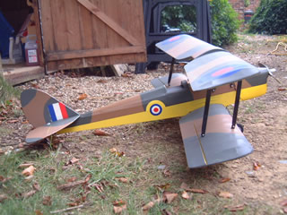 Here's the Tiger Moth just after inital build
