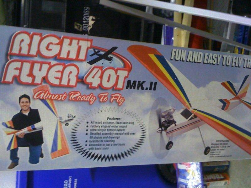 Global Right Flyer 40T Mk. II ARF - NEW
