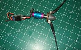 Hacker b20L /15 brushless inrunner with CC 25 amp esc