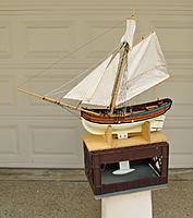 Name: 6-Photo 11 Model with Sails and Fin Keel.jpg