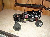 Name: Tim's finished Traxxas Rustler.jpg