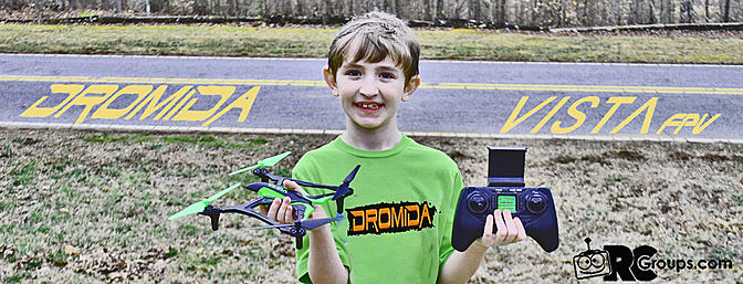 Dromida Vista FPV Quadcopter review