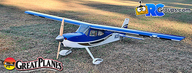 Great Planes Avistar 30cc - RCGroups Review