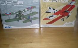 SE5A and Albatross NIB