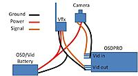 Name: OSDPro VTx-Cam-Batt Wiring.jpg