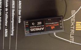 Spektrum AR635 receiver with AS3X