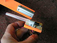 Name: Aluminium door bolt and Biro pen for shaft.jpg