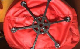 Carbon Fiber Hexacopter Frame + Motor Mounts Weight:  450grams (15oz) - 150$ Shipped