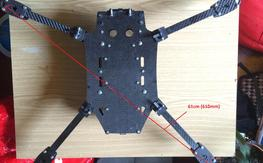 Folding Carbon Fiber FPV CAT style Frame - 318grams (~11oz) 200$ shipped.
