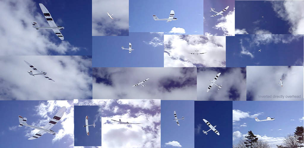 made from clips of the videeo of your last flight today .