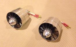 ExtremeRC Australia 70mm 12 blade alloy fan/motor combos