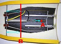 Name: cde AF.jpg Views: 149 Size: 189.2 KB Description: de toute �vidence, ces 2 points de rotation d'axe sont � reculer aux vues du faible d�battement du v�rin �lectrique (30 mm)