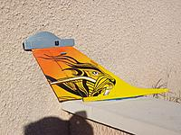 Name: Déco dérive Rafale (20).JPG Views: 12 Size: 1.16 MB Description: I am used to do my sticker and  I spend satin varnish, matt or gloss   to finish the plane
