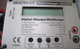 Multiplex LN-5014 Charger (like new)