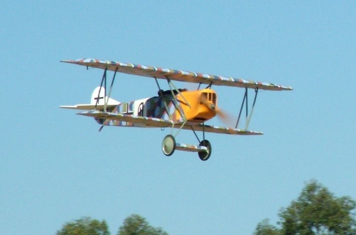 Great Planes Fokker, re-skinned in solartex and re-painted by hand (a big job).