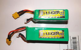 New Hunger 6s Lipos