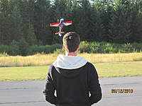 Name: Mike flying the EF 48.jpg
