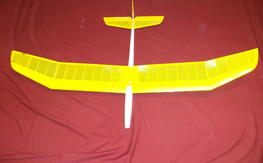 Zephyr: 2-ch. Glider for hand-launch, tow, thermal or slope soaring. Free Shipping!!!