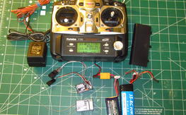 Futaba T7C radio 2.4ghz  with 2 receivers