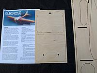Name: P9249016.jpg Views: 42 Size: 708.4 KB Description: Instructions and ply firewall and undercarriage mounting plate.